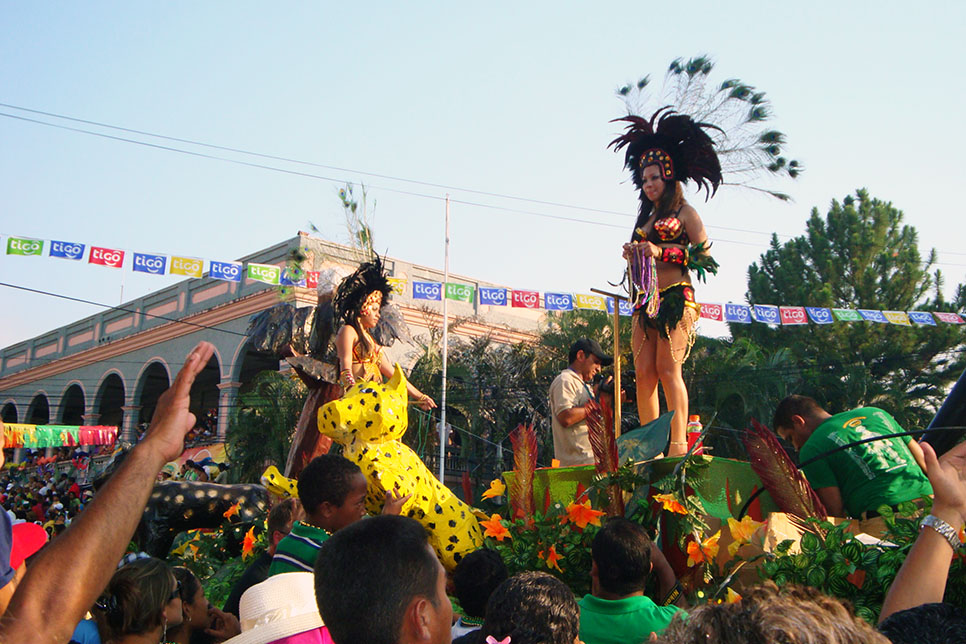 The great carnival at la ceiba guillaume pelletier
