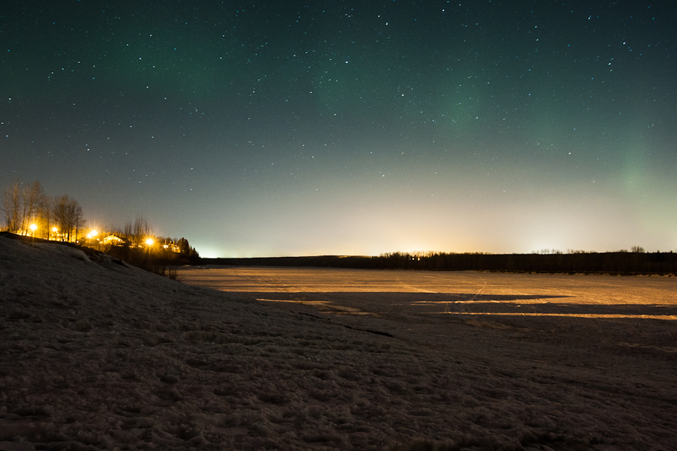 From Moncton to Fort McMurray and a northern lights escapade in Fort McKay